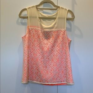 Marc by Marc Jacobs sleeveless lace top